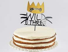 "Топпер ""Young & Wild & Three"""
