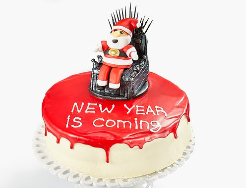 "Торт ""NEW YEAR IS COMING"""